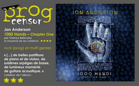 Jon Anderson - 1000 Hands – Chapter One