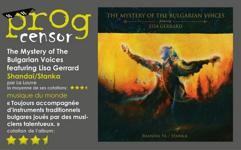 The Mystery of The Bulgarian Voices featuring Lisa Gerrard - Shandai/Stanka