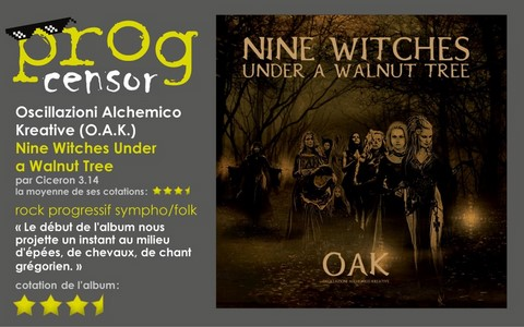 Oscillazioni Alchemico Kreative - Nine Witches Under a Walnut Tree