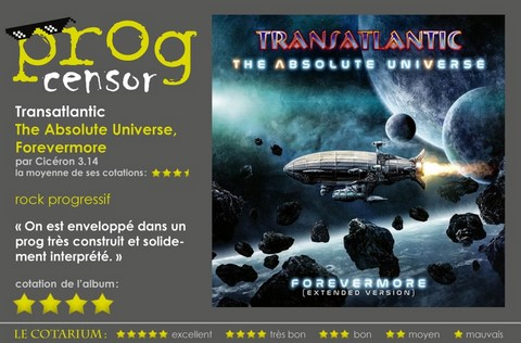 Transatlantic - The Absolute Universe, Forevermore